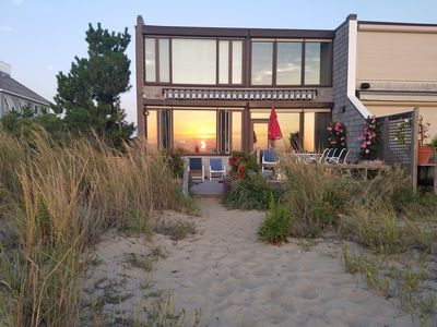 Beautiful North Shores Beach Home - Great deck with views that go on and on