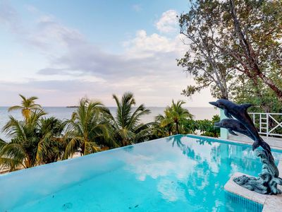 Photo for NEW LISTING! Modern villa w/oceanfront views, private beach, natural beauty