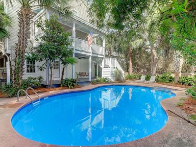 Photo for Private Salt Water Pool! Close to Dntn Folly Beach