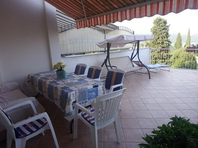 Photo for Two bedroom apartment with terrace and sea view Opatija (A-7896-a)