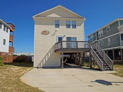 Photo for 1 BLOCK TO BEACH- 5 BRs, Private Pool, Hot Tub, Jacuzzi Tub and Dog Friendly!