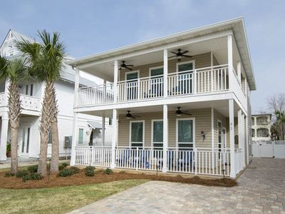 Photo for Beach Vacation Home with Private Pool~Pet Friendly ~Steps to the Beach!