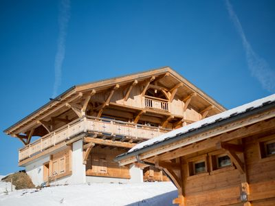 Photo for Charming chalet Praz-de-Lys. 8 to 10 people