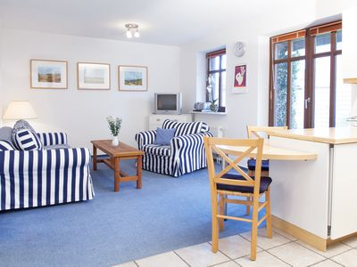 Photo for Pretty, cozy garden apartment in Westerland
