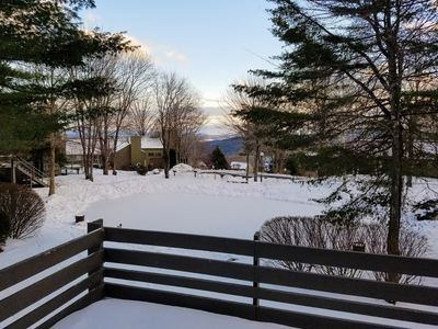 Photo for Pet Friendly Ski-On/Ski-Off 3 Bedroom + Sleeping Loft Condo - Close to Quechee Club!