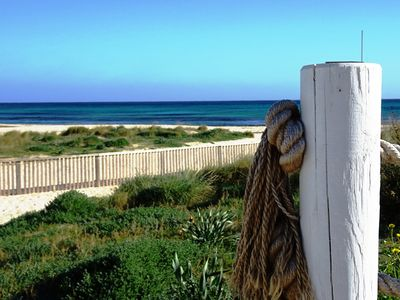 Photo for Fenced Private Pool, Walk to Beach, Air Cond-, Car Not Required, Wifi, 6 people
