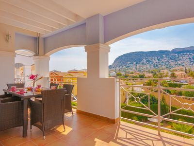 Photo for GRINEV, Bungalow in Calpe for 6 pax and pool. Free wifi