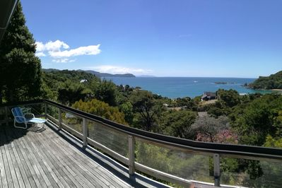 View from deck toward Great Barrier
