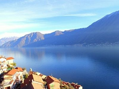 Photo for Apartment Majestic Panoramica In Colonno with 180 degree lake views.