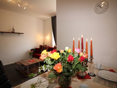 "Photo for 2 rooms, up to 5 persons, luxuriously furnished, ""Rose"""