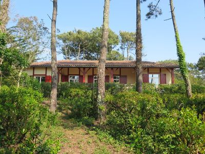 Photo for Nice house under the pine forest in Moliets beach