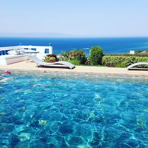 Photo for Villa on the heights of Tangier with pool -sidi kankouch-