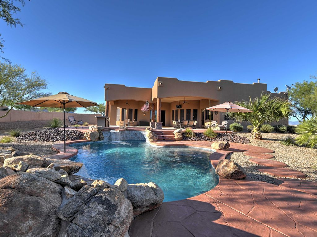 Tranquil scottsdale home w private pool h vrbo for Az cabin rentals with hot tub