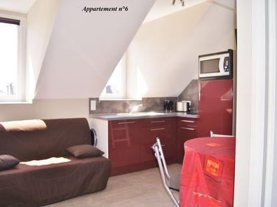 Photo for Studio n ° 6 exceptional location (center of Berck-Plage - 300m from the beach)