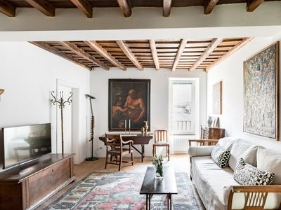 Photo for Classic chic apartment in Trastevere