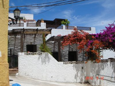 Photo for 5 MINUTES FROM BEAUTIFUL BEACHES OF SAN JOSE, SUPERB HOUSE TERRACES 120M²