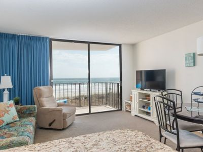 Photo for Carolina Reef -  105 Fantastic views from this 1-bedroom oceanfront condo in Carolina Reef!