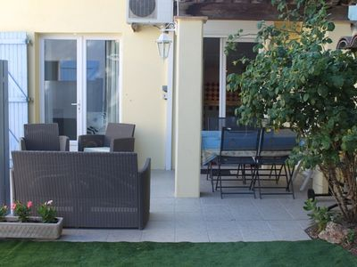 Photo for Promo Villa- 3 rooms-5 pers. - Ste Maxime - 1Km beach-private PK - air conditioning