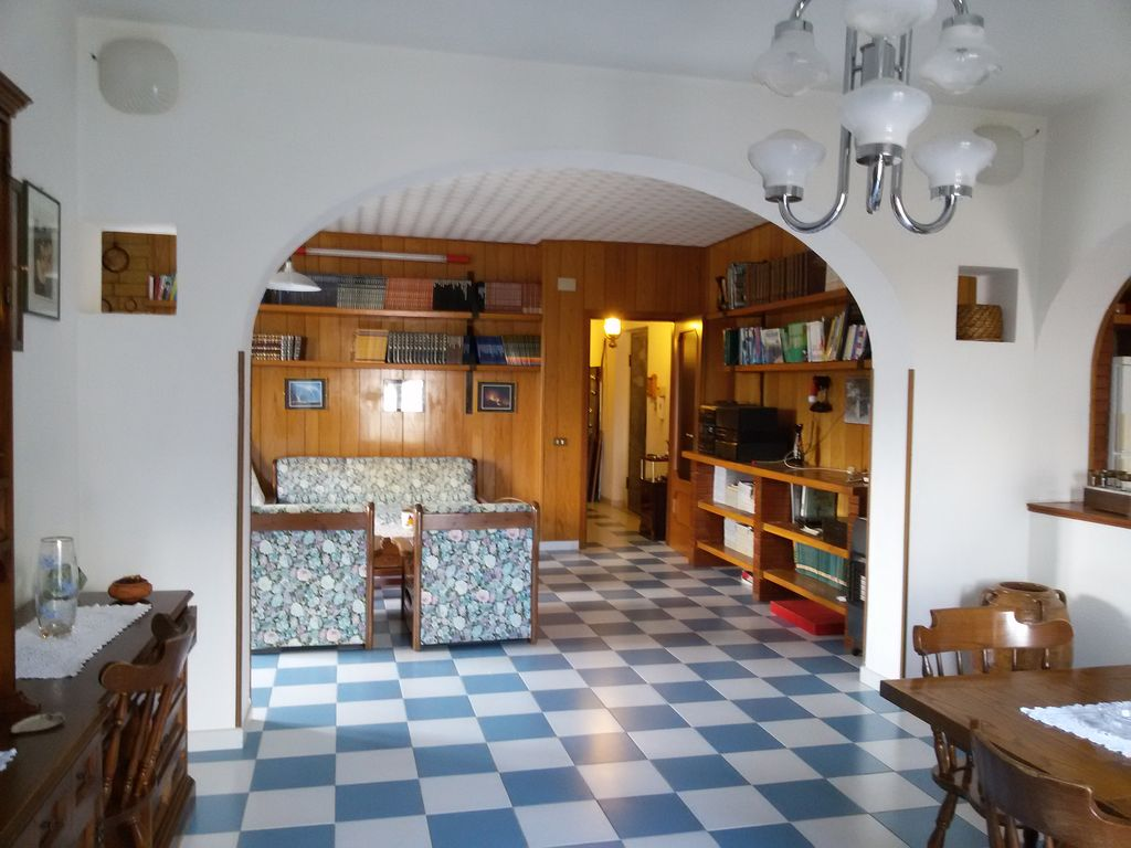 House in the mountains in the Pollino National Park