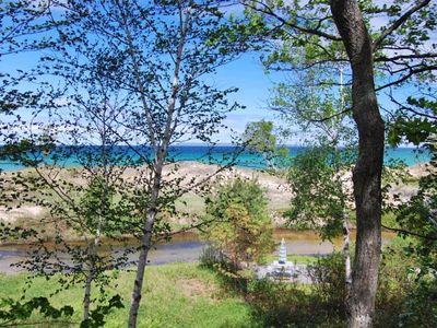 Photo for River Front 2b/2b Condo with Lake Michigan Access & Views in Glen Arbor!