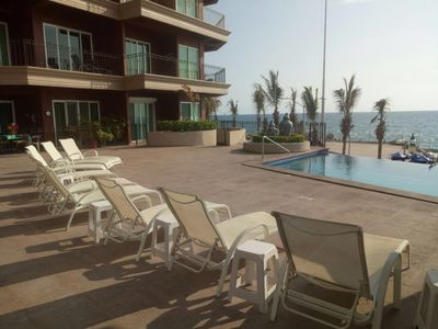 Photo for 3 Bedroom, 2800 Square Foot, Waterfront View Condo In Historical Mazatlan