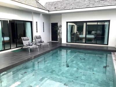 Photo for Private Modern 3 Bed Pool Villa nr Layan Beach