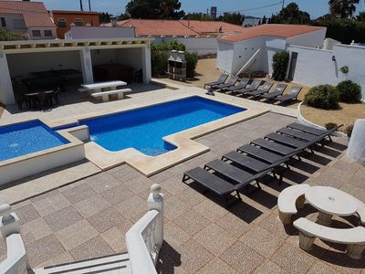 Photo for BENIDORM PARADISE VILLA  JACUZZI,POOL TABLE,TABLE TENNIS,GOLF,FAMILY HOLS.