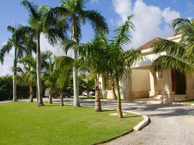 Photo for Magnificent 5 BR Villa. Pool. Golf Car.