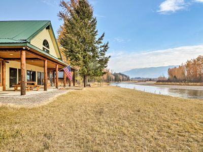 Photo for NEW-Kalispell Riverfront Home by Glacier Natl Park