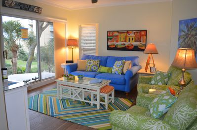 Plenty of comfortable seating to relax and enjoy the view!