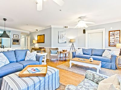 Photo for Brass Rail 209: 3 BR / 2.5 BA condo in Tybee Island, Sleeps 9