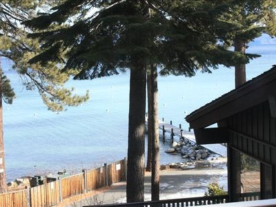 Photo for Lakefront, West Shore Condo #36 Tahoma