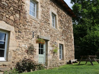 Photo for Cosy cottage in the beautiful Livradois Forest Auvergne