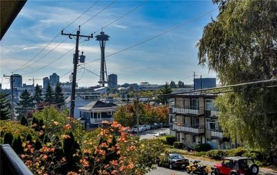 Photo for 1BR in lower Queen Anne with Space Needle view