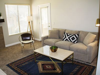 Photo for Newly Furnished Scottsdale Condo Next to Public Golf Course! Snowbird Paradise!