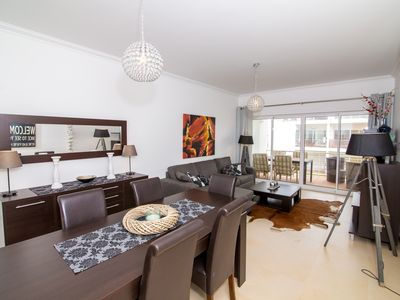 Photo for Luxury two bedroom apartment with fantastic views over Ria Formosa Natural Park
