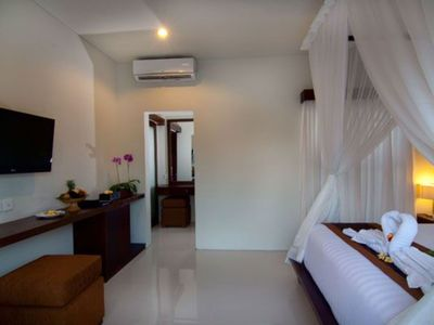 Photo for Awan 1 Bedroom Private Pool Villa in heart of Seminyak, 5 mnts walk to the beach
