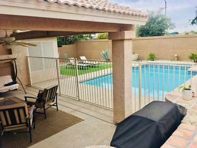 Photo for Vacation Safe in Sanitized Home With Private Gated Pool in Updated Luxury Home!