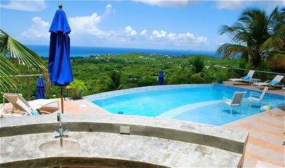 Photo for Vieques is Gorgeous! See it from up here - Spectacular Pool and Panoramic Views!