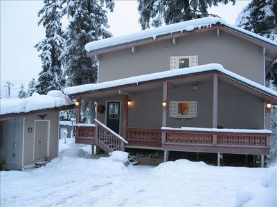 Photo for Spacious 4 Bdr Walk to Ski Lifts Sunny Exposure Large Deck