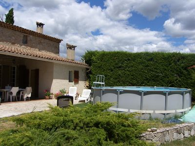 Photo for Villa with Garden of 5000 m2 in Grambois.