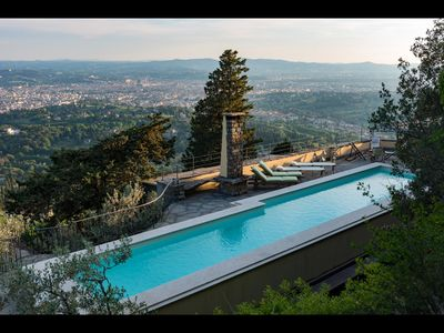 Photo for Stunning 5 Bdr Villa With Breathtaking Views of Florence and Private Pool
