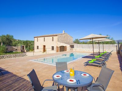 Photo for SA RIBA 6 - Villa with private pool in Sant LLorenç des Cardassar.
