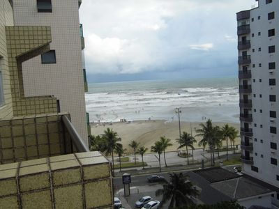 Photo for 706 ~ Apt 1 bedroom with balcony and sea view, 60 meters from the beach.