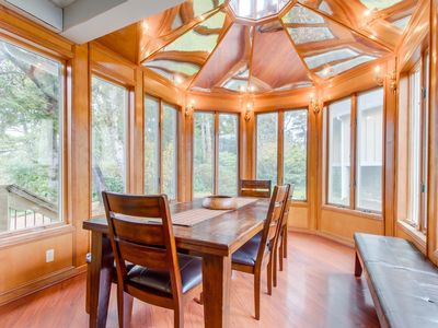 Photo for NEW LISTING! Dog-friendly, 3-level house with private hot tub, deck, game room