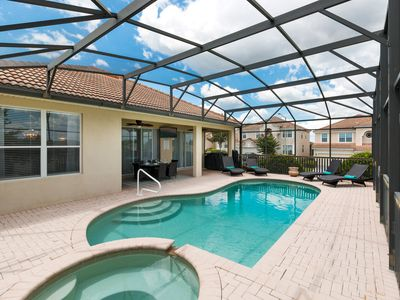Photo for 4 Bed Home with Private Theater & Games Room, Private Pool, Spa & Kids Bedroom