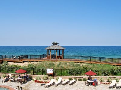 Photo for Big Kahuna: One of the Best Views in the Building! Oceanfront Pool View w/Hot Tub