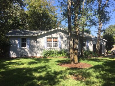 Photo for Charming Beach Bungalow-minutes to the beach OR Intracoastal