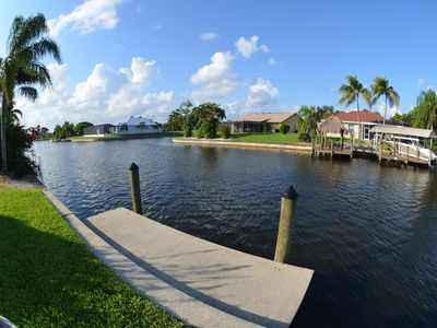 Photo for GULF ACCESS 2 bedroom 2 bath COTTAGE/ DUPLEX WITH PRIVATE POOL, DOWN TOWN