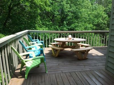 Photo for 3 BR 3 BA Waterfront townhome at Smith Mountain Lake with boat slip
